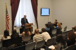 Monday, 4/16/12 - Youth spoke alongside Congressman Jim McGovern at a congressional screening of the IHTD films.