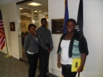 Monday, 4/16/2012 - Youth wait outside the office of their representative.